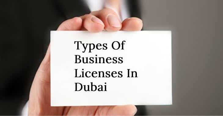 Types Of Business Licenses In Dubai-license