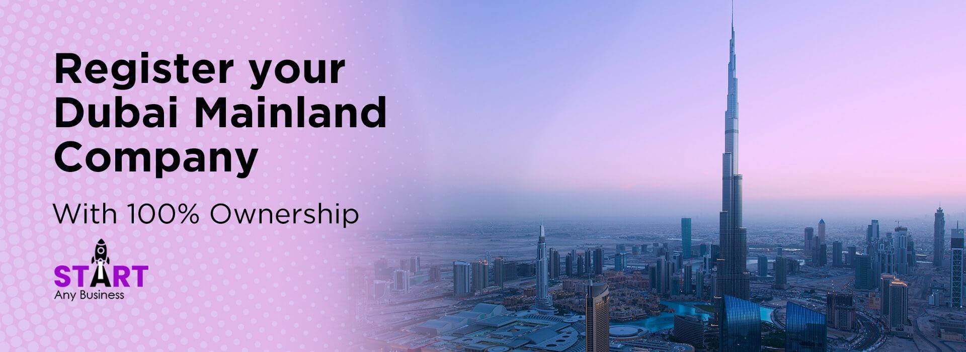 Register your Dubai Mainland Company