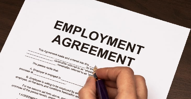 Offence Of Employment Agreements