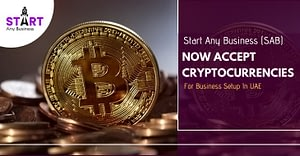 Start Any Business (SAB) Now Accept Cryptocurrencies For Business Setup In UAE