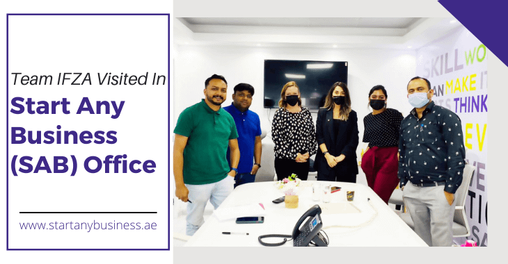 Team IFZA Visited In Start Any Business  Office